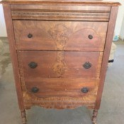 Age and Value of a Chest of Drawers - antique chest of drawers
