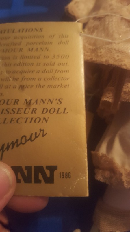 Value of a Seymour Mann Doll