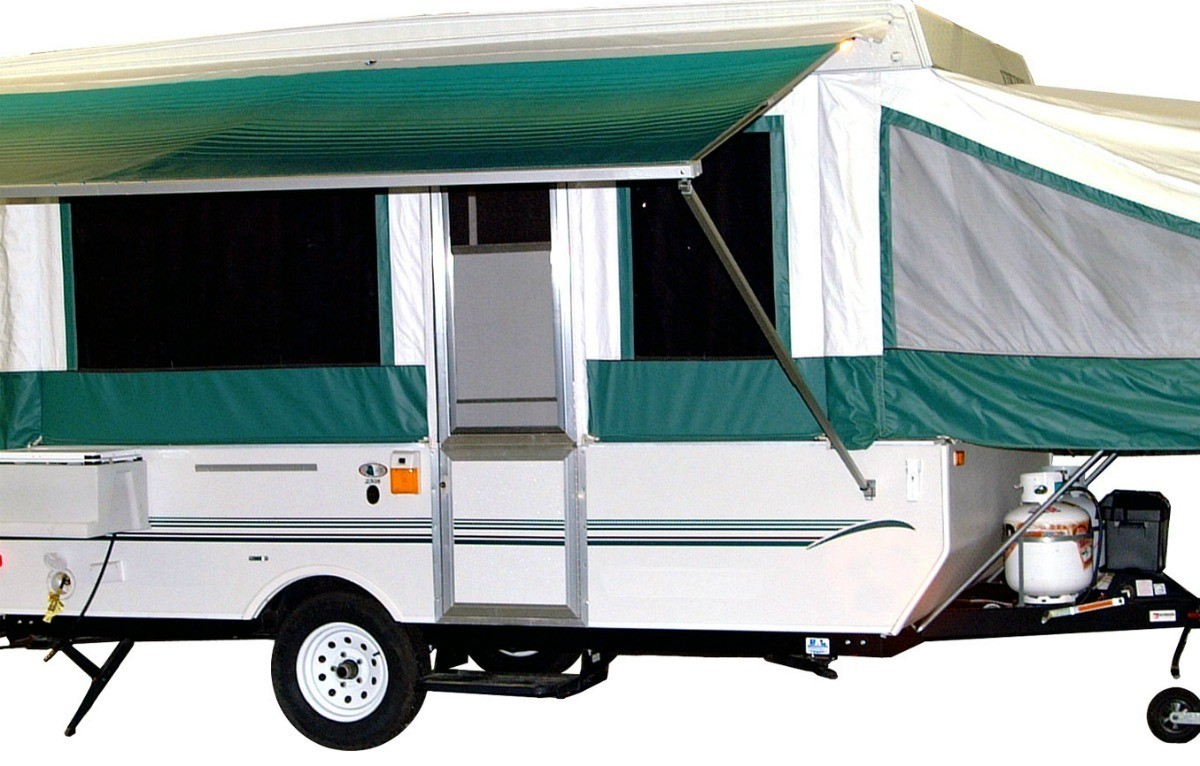 Connecting Front Door on 1973 Jayco Pop Up Tent Trailer | ThriftyFun