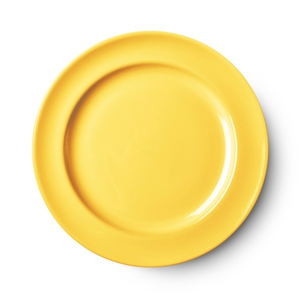 Yellow ceramic plate.  sc 1 st  ThriftyFun.com & How to Repair Chips on Ceramic Plates | ThriftyFun
