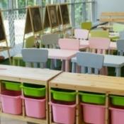 Preschool classroom.