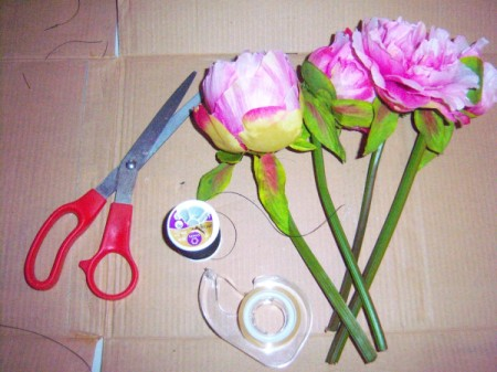 Bridal Dress Flower Vases - other supplies
