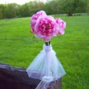 Bridal Dress Flower Vases
