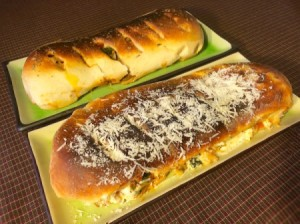 baked Stromboli ready to eat
