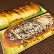 baked Stromboli ready to eat