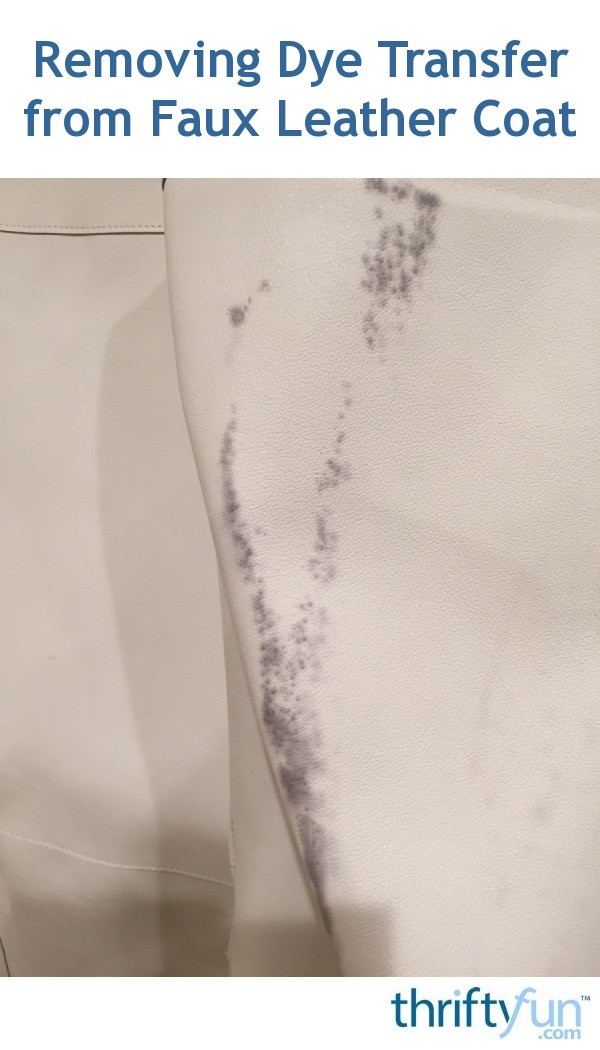 How To Remove Dye From A Leather Sofa Leaftv