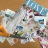 Making a Collage Folder - clippings
