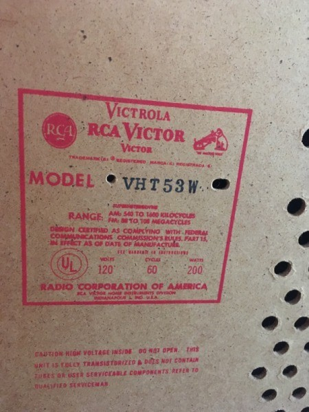 Value of an RCA Record Player with 8 Track Tape Player