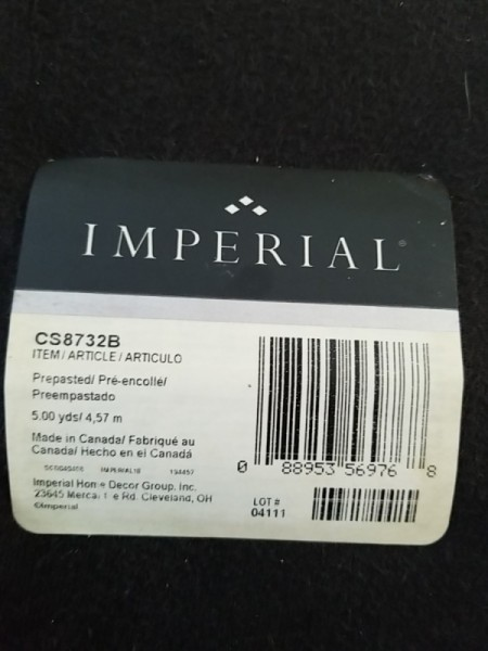 Discontinued Imperial Wallpaper Border
