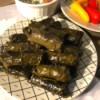 Stuffed Grape Leaves on plate