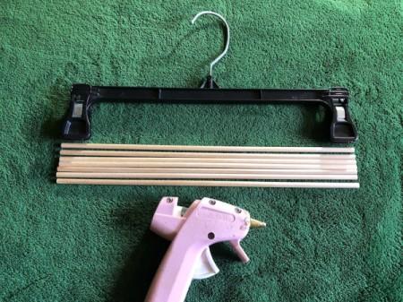 DIY Necktie Hanger - supplies