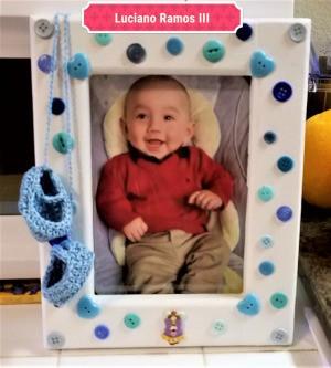 New Baby Frame - finished frame