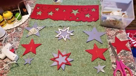 Summer Door Decor - variety of stars