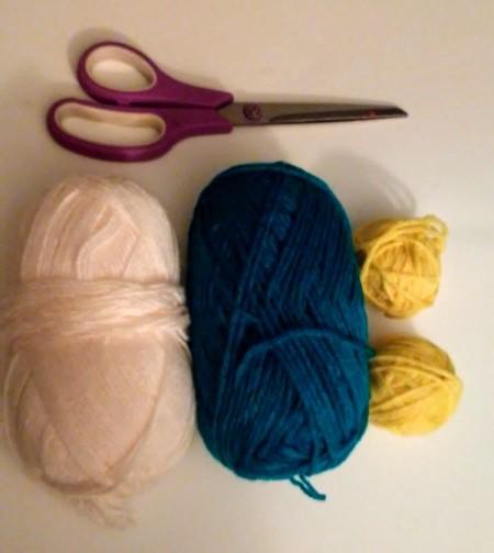 Tennis Racket Weaving  - chosen yarn