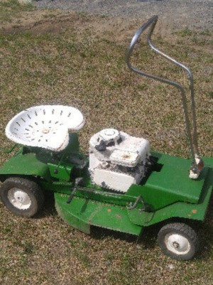Identifying an Old Riding Mower