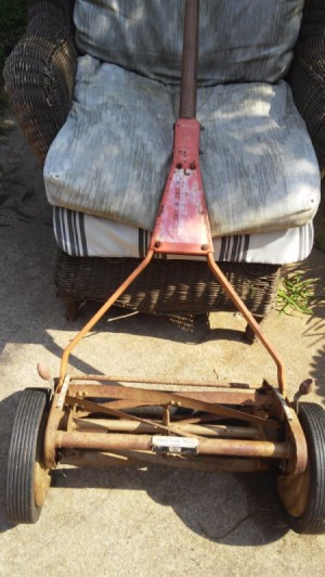 Value of a Scott's 5m9 Silent Reel Mower - old mower