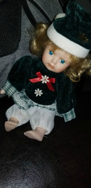Identifying a Porcelain Doll - doll in sailor suit