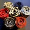 Floating Necktie Organizer - bouquet version