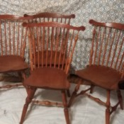 Value of Handmade Windsor Chairs - 4 chairs