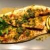 Sea Bass with Lemon Caper Sauce