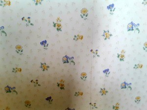 Finding Discontinued Wallpaper - small floral print