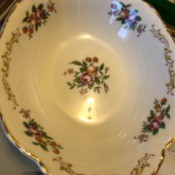 Value of Homer Laughlin Dinnerware - bowl