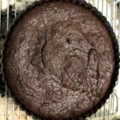 baked Flourless Chocolate Cake