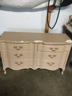 Age and Value of a Johnson Carper French Provincial Dresser -    six drawer dresser