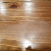 Repairing Dull Areas on Wood Dining Table Finish