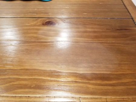Repairing Dull Areas On Wood Dining Table Finish Thriftyfun