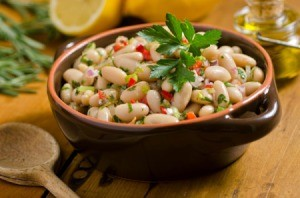 Cannellini Bean salad.