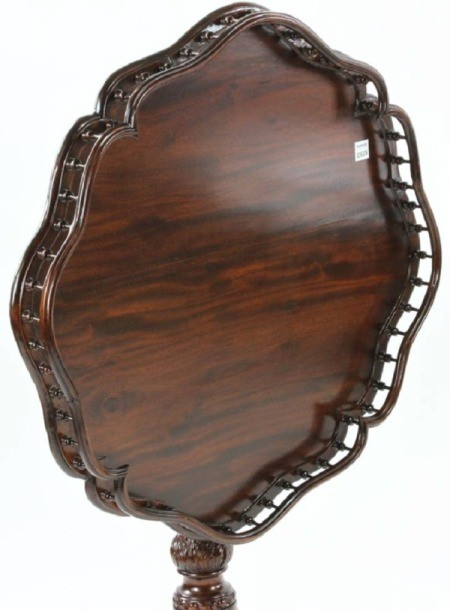 Information on a Pair of Tilt Top Tables