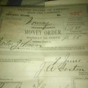 Value of a 100 Year Old Money Order