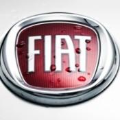 Wet Fiat emblem.