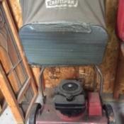 Value of an Old Craftsmen Power Reel Mower - vintage mower