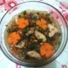 Chicken Vermicelli Soup in bowl