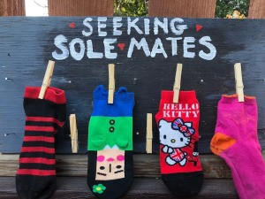 Laundry Room Sock Matching Sign