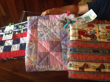 Finding Fabric Donations for Charity Quilting Project - quilts