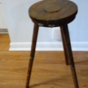 Identifying a Piece of Furniture with Rotating Top