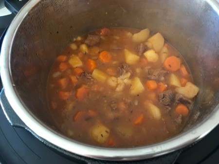 cooked Beef Stew