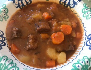 Beef Stew in bowl