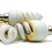 Pile of 3 burnt lightbulbs.