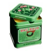 Tin of green Bag Balm.