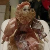 Identifying a Porcelain Doll - clown doll