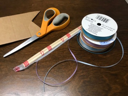Ribbon Wand - supplies