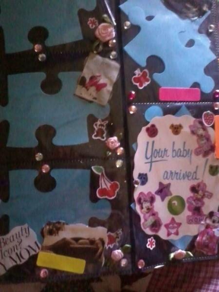 Baby Photo Album - album with puzzle motif