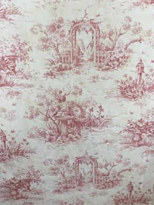 Looking for Wayfair Wallpaper - dark pink garden trellis design on white background