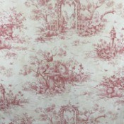 Looking for Wayfair Wallpaper - dark pink garden trellis design on white background