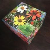 Recycled Ice Cream Box into Giftbox