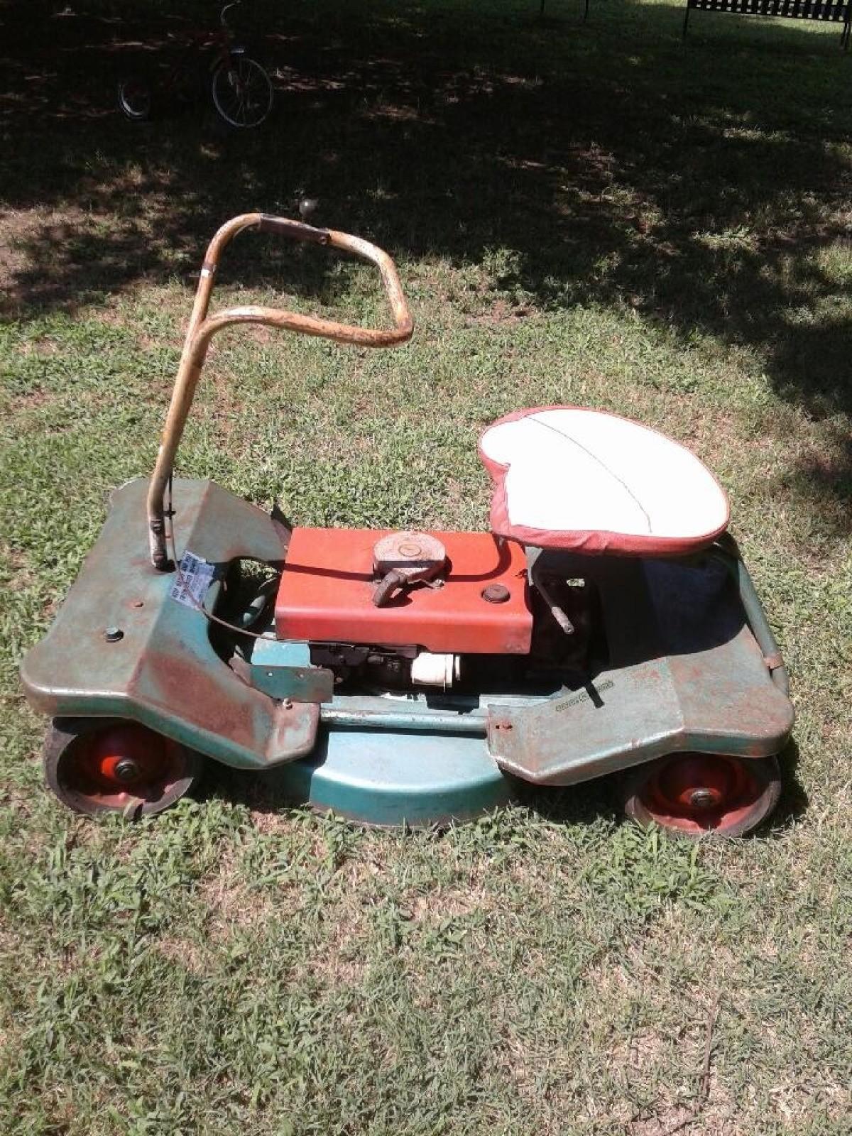 Value Of Vintage Craftsman Riding Mower Thriftyfun